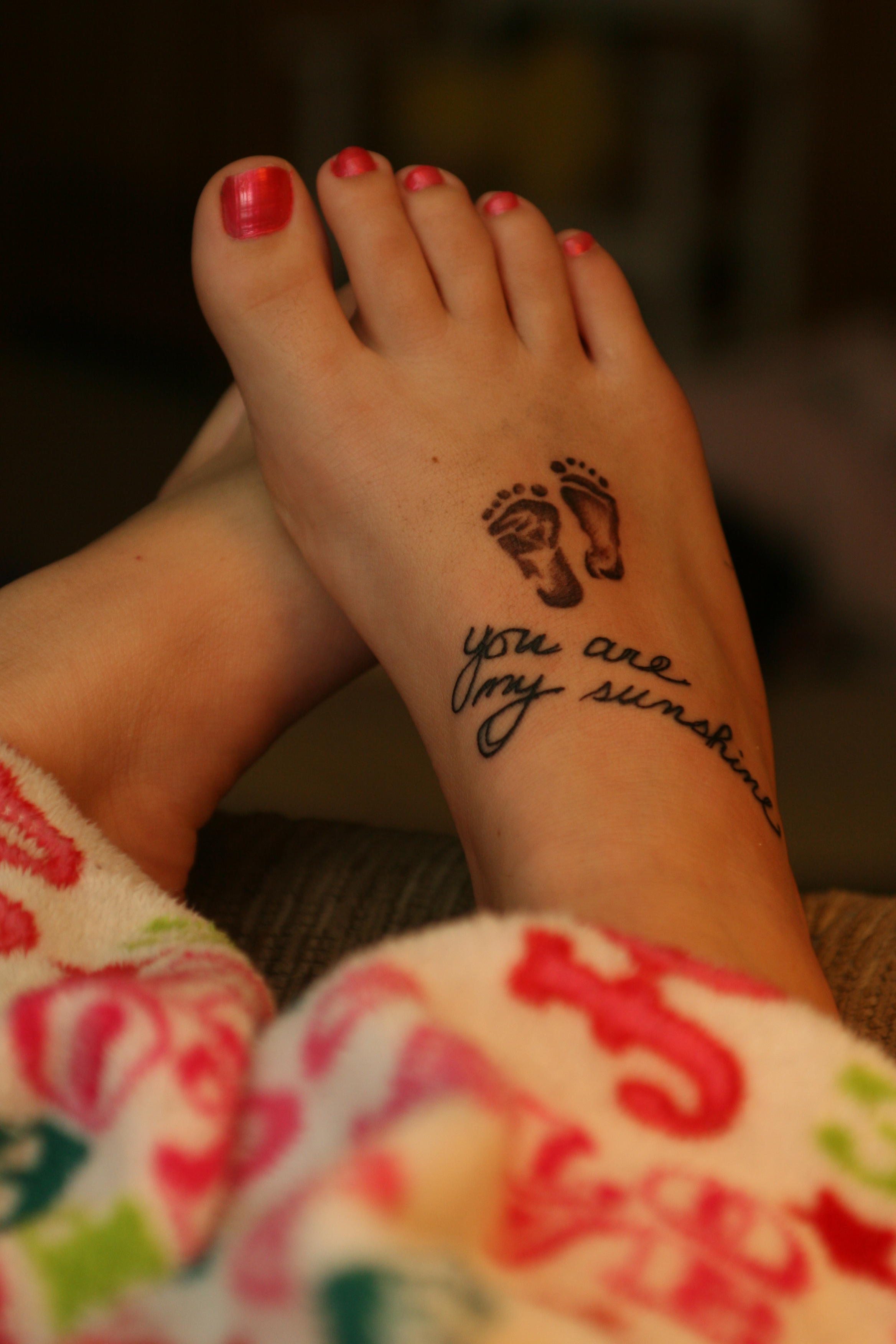 Forever Imprinted}- the full meaning behind my tattoo – Colour Her ... - Schöne Tattoo Sprüche