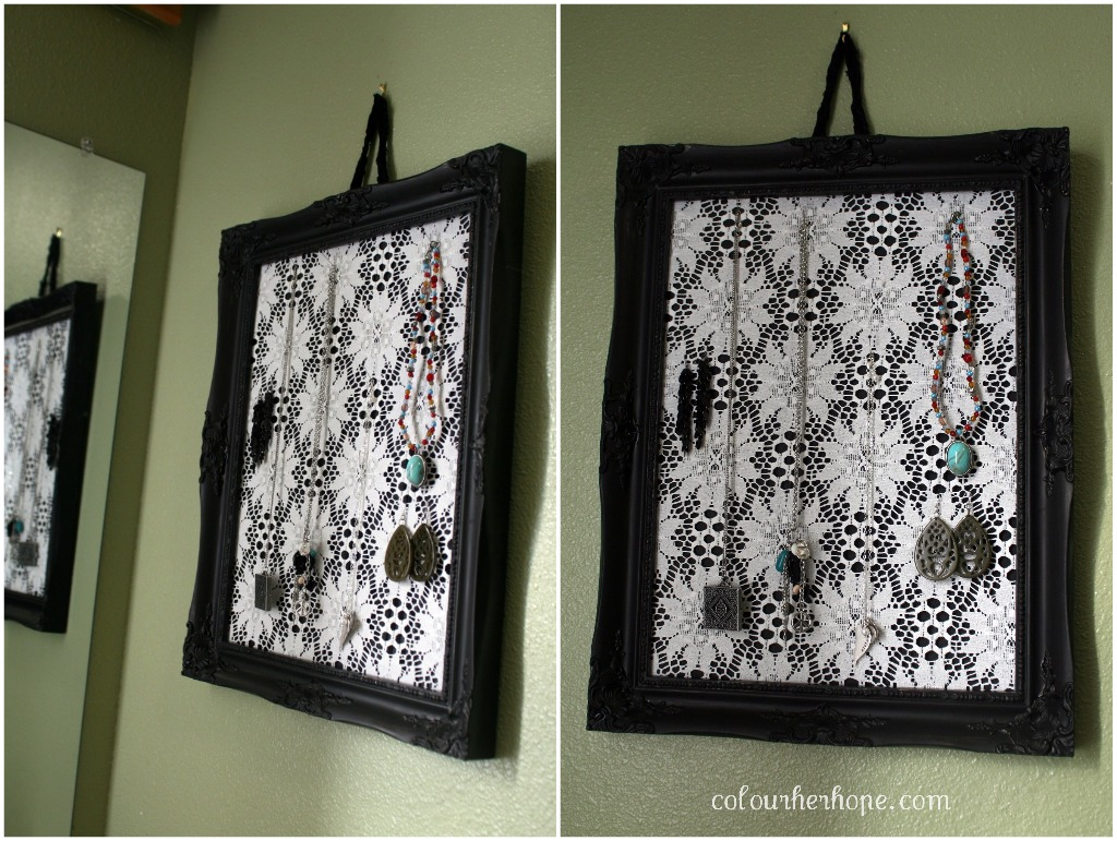 pretty jewelry holder {a DIY} – Colour Her {Hope}
