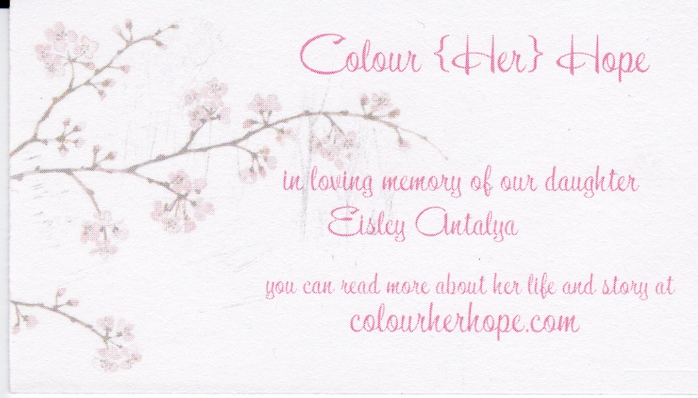Craft fair & business cards! – Colour Her {Hope}