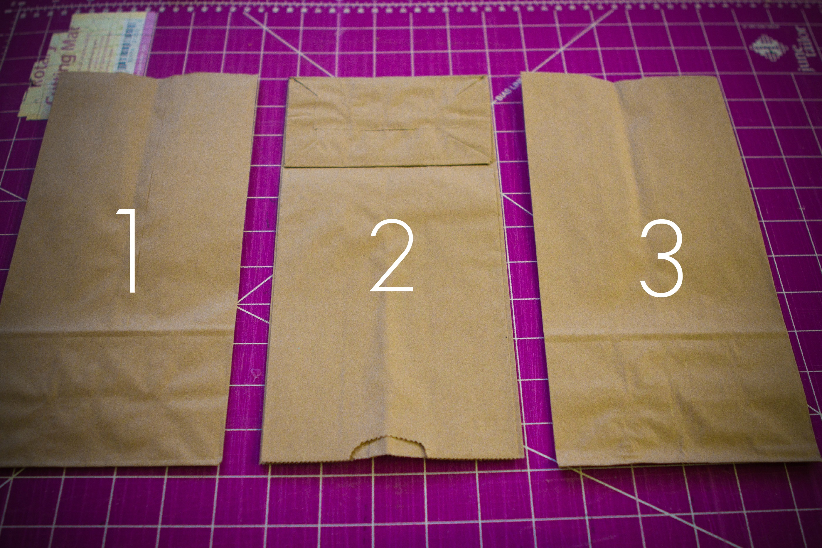 DIY paper bag book - Colour Her {Hope}