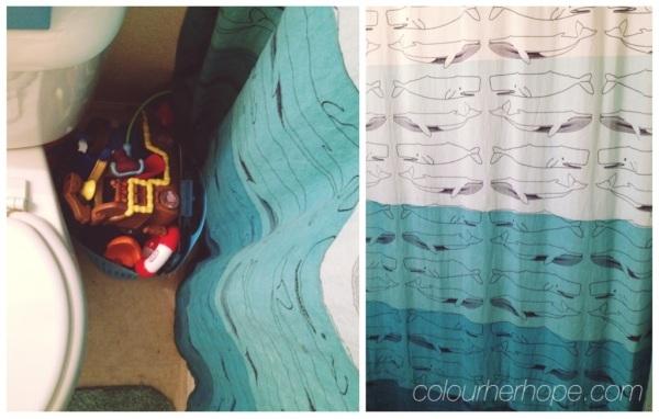 Bits + pieces: whale themed bathroom (plus a few DIYs) | Colour Her